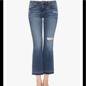 Joe's Jeans The Olivia Mid Rise Cropped Flare Jean
